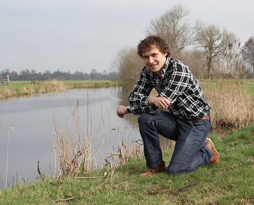 Tim van Noord, adviseur bij Proeftuin Veenweiden