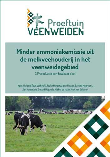 Minder ammoniakemissie uit de melkveehouderij in het veenweidegebied