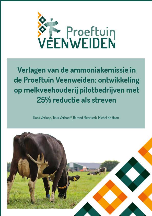 • Verlagen van de ammoniakemissie in de Proeftuin Veenweiden
